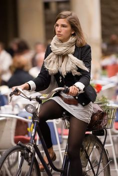 Great outfit! Great bike!