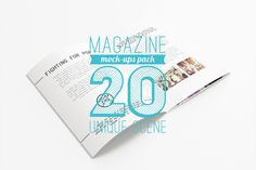 Check out 20 Magazine Mock-ups Pack by itembridge creative store on Creative Market