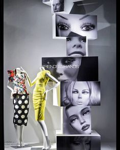 """BERGDORF GOODMAN, New York, USA, """"The Face Recognition App.... Listen Joanne, don't worry when you are not recognized, but strive to be worthy of recognition"""", photo by Lorenzo Imperatori, pinned by Ton van der Veer"""