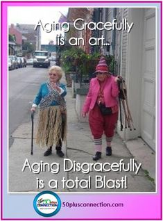 Baby Boomer Humor | Midlife Women | Aging Disgracefully