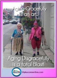 Baby Boomer Humor | Midlife Women | Aging Disgracefully