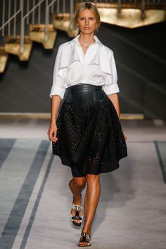 Welcome back to RTW, Tod's! Tod's Spring 2014 Ready-to-Wear Collection #tods