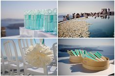 Featured on Grace Ormonde Wedding Style. An on line feature of a destination wedding in Santorini, high end design Martha Stewart details. Destination Wedding, Wedding Planning, Weak In The Knees, Santorini Wedding, Wedding Inspiration, Wedding Ideas, Beautiful Wedding Venues, Greek Wedding, Table Arrangements