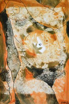 Piel de Otoño, 1973  Dario Suro (1918 - 1998) - Dario Suro (1918 - 1998) - É considerado um dos renovadores da arte plástica Dominicana. Foi um dos principais criadores dominicanos, influenciado pela escola Latino-Americana. Nunca deixou de renovar a sua expressão artística.