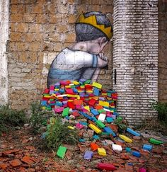"""Brickseat"" by Seth in Rome, 7/16 (LP)"