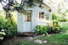 Would be great to have a little sewing cottage to get in the zone in when I am crocheting!