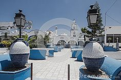 Building and  restaurant in Gare de Mahres town by the road in Tunisia , Africa.