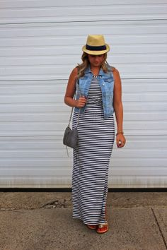 Maxi Dress and a Giveaway, head over to http://www.stylecubby.com/2014/05/outfit-post-striped-maxi-giveaway.html to enter!