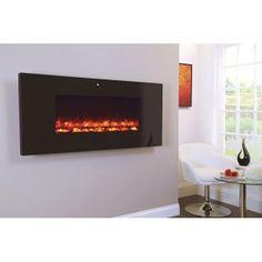 Designer Fire - Piano Black 1100