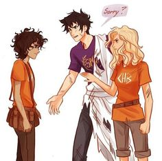 """""""Man, I don't understand how it happened. I'm so sorry—"""" """"Sorry? """" Percy growled. Annabeth put a hand on her boyfriend's chest. / """"Cara,eu não sei como isso aconteceu,estou muito arrependido,descupa."""" - """"Desculpa?"""" - Percy grunhiu.Annabeth colocou a mão no peito do namorado."""