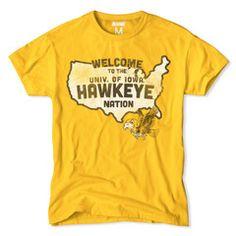 Iowa Hawkeyes Nation T-Shirt
