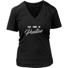(Positive) Womens V-Neck