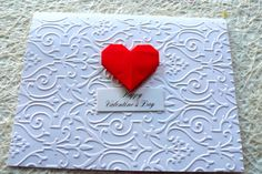 Valentine card Valentine Day Cards by NirvanaCardsnCrafts on Etsy