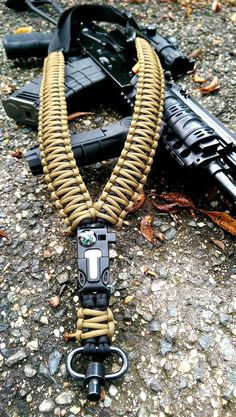One Point Paracord Sling #outdoorparacord