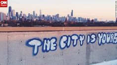 """""""Every day I wake up and see that powerful, <a href='http://ireport.cnn.com/docs/DOC-1105536'>breathtaking skyline</a>, I feel inspired to work hard to make my city even greater,"""" says Reynaldo Leal. """"I proudly tell people 'I'm from Chicago' no matter what misconceptions they might have."""""""