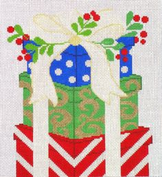 packages needlepoint canvas from Amanda Lawford