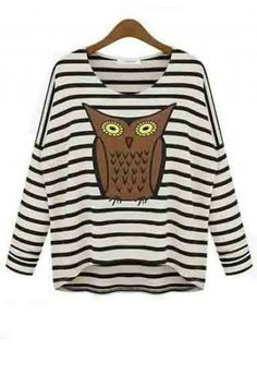 Cute Owl Sweater.