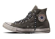1784fff613c Converse Chuck Taylor All Star Army Patchwork charcoal black white