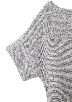 Cropped boxy Peturus Sweater,VPL