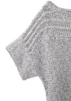 Cropped boxy Peturus Sweater,VPL