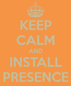 #KeepCalm with @PresenceTech