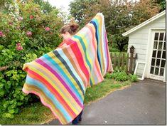 Woven Stitch Blanket