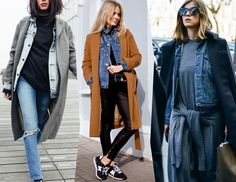 пальто и джинсовка