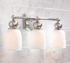 Covington Hotel Triple Sconce Bathroom Lighting