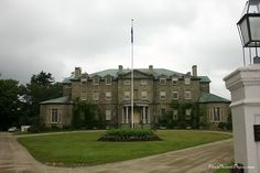 Government House, Fredericton, New Brunswick O Canada, Canada Travel, Devon Uk, John Denver, Prince Edward Island, New Brunswick, Stone Houses, Take Me Home, Small Towns