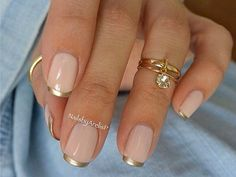 Subtle Ways to Upgrade Your Nude Manicure - Make it a French