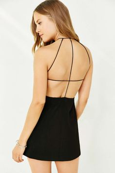 Silence + Noise Mekka Strappy-Back Dress - Urban Outfitters