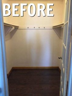 """""""I'd smile every time I opened the door,"""" said a reader when she saw this woman's closet idea"""