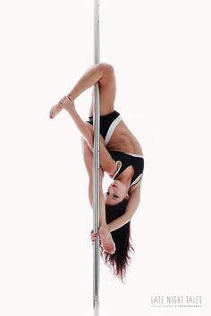 Pole Picture of the Day: Bad Kitty USA Brand Ambassador Michelle Natoli wearing the PoleFit® Whiskers Top