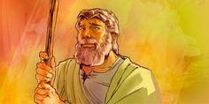 Cartão Bíblico: Arão