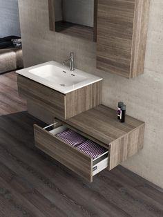 Mobili moderni per il bagno di Legnobagno - www.legnobagno.it  Urban ...