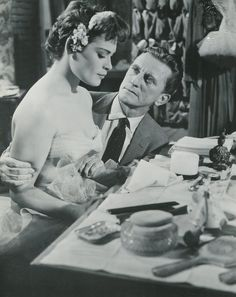 Bella Darvi & Kirk Douglas Kirk Douglas, Famous Men, Great Movies, December, Beauty, Vintage, Women, Actresses, Actor