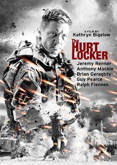 THE HURT LOCKER Movie Poster Fan Made