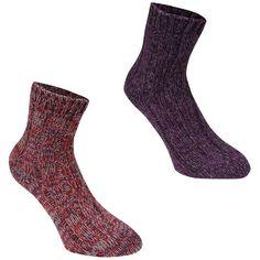 SoulCal | SoulCal Boot Socks 2 pack Ladies | Ladies Socks
