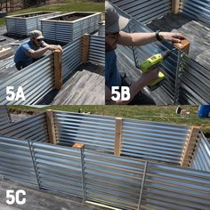 A full tutorial on how to build Galvanized Steel Raised Beds why they are better than any other types of raised beds and how to turn them into easy cold frames gardening raisedbeds raisedbedgardening cedar wholefully #
