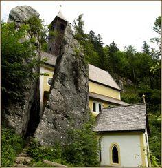 Kössen, Wallfahrtskirche, Loreto-Kapelle und Mariahilf Kapelle (Kitzbühel) Tirol AUT