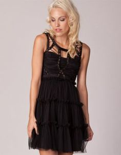 Love this gorgeous Tulle Dress with little Grecian bodice