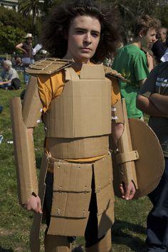 Cardboard Tube Fighting League   Explore davegolden photos o…   Flickr - Photo Sharing! Cardboard Costume, Elves And Fairies, Cardboard Tubes, Jon Snow, Costumes, People, Kids, Explore, Halloween
