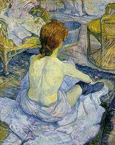 Henri de Toulouse – Lautrec | A Toilette (1896)