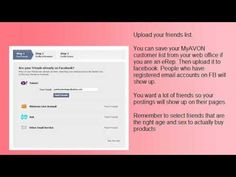How to Put Your AVON Business on Facebook