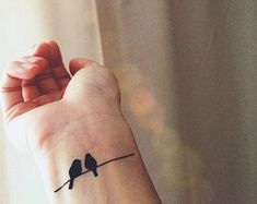 Image result for wrist tattoo bird on wire branch image