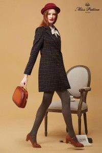 Capital Coat (Brown Tartan) (5)