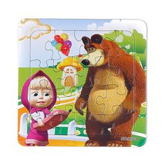 3D Giấy jigsaw câu đố cho trẻ em đồ chơi trẻ em brinquedos Masha và Gấu Công Chúa đồ chơi cho trẻ em Bé đồ chơi giáo dục Puzles