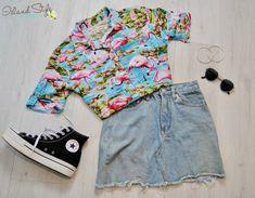 b28a8241f781 Ladies Flamingo Hawaiian Shirt - wicked shirt for music festival