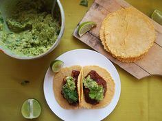 How To Make Taco Recipe : Tofu, mushroom, mole tacos