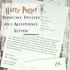 Free downloads to create your own harry potter party invitations or well another birthday party has come and gone around these parts and like always now is the time to show the super fun results of said party stopboris Image collections